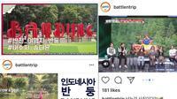 Kota Bandung dalam Reality Show Korea Battle N Trip (dok.Instagram/@ridwankamil/https://www.instagram.com/p/BpuL5DintXc//Asnida Riani)
