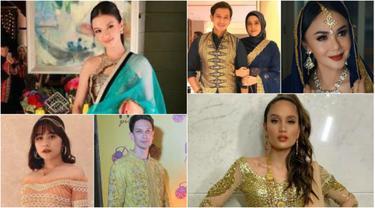 Selebritas yang mengikuti acara Diwali (Foto: Instagram)