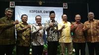 Gubernur Jawa Barat Ridwan Kamil mengajak kepala daerah di kawasan Pantura untuk meninggalkan pola birokrasi lama. Foto (Liputan6.com / Panji Prayitno)