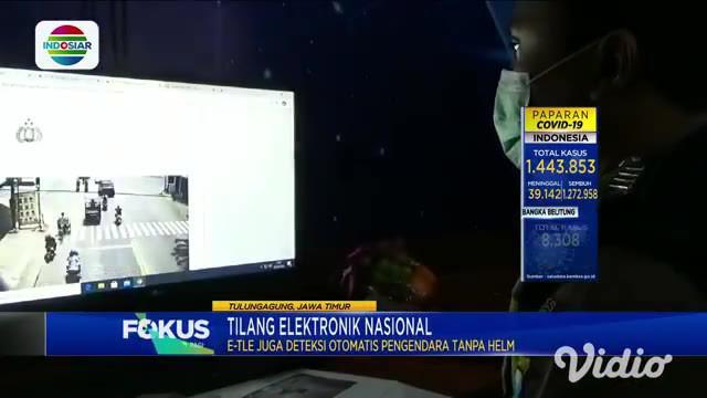 Tilang berbasis sistem elektronik mulai diujicobakan di Tulungagung sejak hari Kamis (18/3). Terdapat tiga pelanggaran lalu lintas yang dapat terdeteksi, yakni tidak menggunakan helm, melanggar marka jalan, dan menerobos lampu merah.