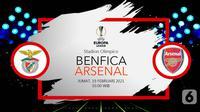 Benfica vs Arsenal (liputan6.com/Abdillah)