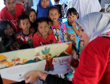 Trauma Healing untuk Anak-Anak Korban Gempa Tsunami Palu