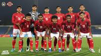 Timnas Indonesia U-23 Vs Tajikistan U-23. (Instagram PSSI).