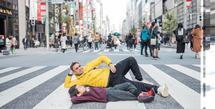 Setelah menjelajah beberapa destinasi wisata di Korea, Raffi Ahmad, Nagita, dan rombongan melanjutkan liburannya ke Jepang. (Instagram/raffinagita1717)