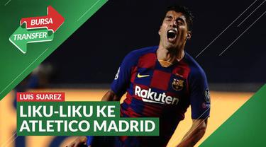 Berita video bursa transfer kali ini membahasa liku-liku kepindahan Luis Suarez dari Barcelona ke Atletico Madrid.