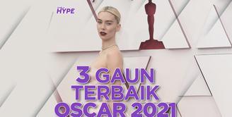 Ini dia tiga gaun terbaik di Piala Oscar 2021, yuk kita cek video di atas!