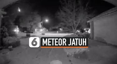 Warga dikejutkan dengan suara ledakan yang cukup keras di Missouri, Amerika Serikat. Usut punya usut, suara ledakan tersebut diduga berasal dari meteor yang jatuh di wilayah tersebut.