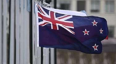 Ilustrasi bendera Selandia Baru (AFP)