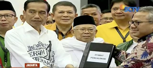 Pengusaha Chairul Tanjung dan jurnalis Najwa Shihab jadi kandidat ketua timses Jokowi-Ma'ruf Amin.