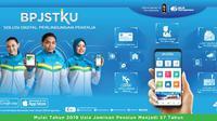 BPJS Ketenagakerjaan dalam memberikan layanan kepada pesertanya juga memanfaatkan kemudahan dari perkembangan teknologi telepon pintar, yaitu dengan menghadirkan aplikasi BPJSTKU