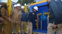 Sebanyak 6.952 rumah tangga di Karawang, Jawa Barat menggunakan gas bumi. Liputan6.com/Pebrianto Eko Wicaksono