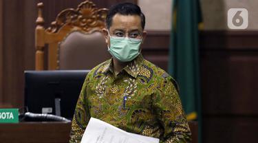 Mantan Menteri Sosial Juliari Batubara Jalani Sidang Lanjutan Suap Bansos COVID-19