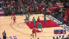 Berita video game recap NBA 2017-2018 antara Chicago Bulls melawan Charlotte Hornets dengan skor 120-114.