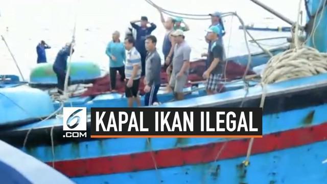 Kementerian Perikanan dan Kelautan kembali menangkap kapal ikan ilegal. Kali ini 6 kapal ikan ilegal asal Vietnam dan Filipina yang kepergok beroperasi di perairan Indonesia.