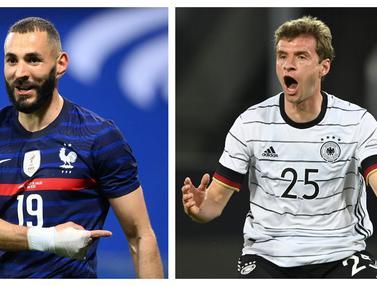 Foto Piala Eropa: Lama Absen dan Tak Lagi Muda, 5 Pemain Berikut Comeback Bersama Timnas di Euro 2020, Termasuk Karim Benzema