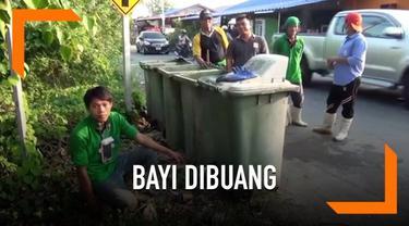 Seorang bayi yang baru lahir ditemukan di tempat sampah di Thailand. Tubuh bayi penuh dengan gigitan nyamuk dan dikelilingi semut.