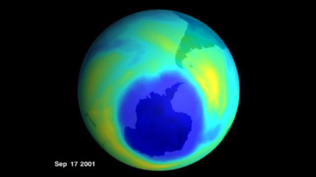 Lapisan ozon yang mulai mencair