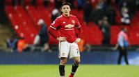 7. Alexis Sanchez (Manchester United) - 30,7 juta euro. (AFP/Ian Kington)