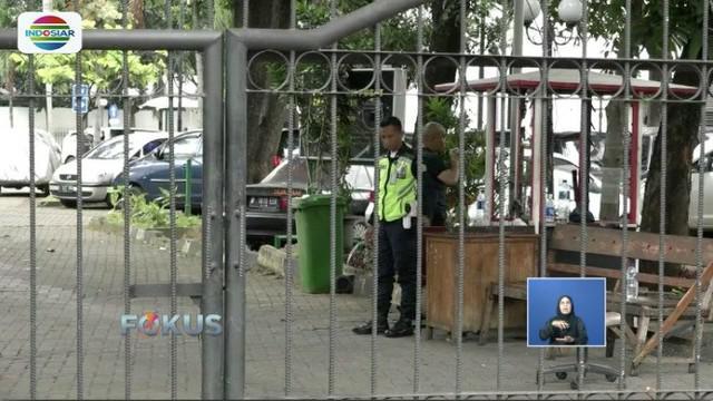 Pascaoperasi tangkap tangan Romy oleh KPK, Kantor Pusat PPP di Jakarta, tampak sepi dan hanya dijaga oleh petugas keamanan.