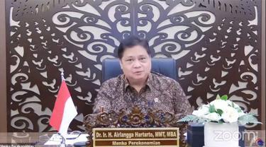 Menteri Koordinator bidang Perekonomian, Airlangga Hartarto menuturkan ada tren penurunan pelaksanaan PPKM level di beberapa kabupaten kota yang ada di luar Jawa-Bali.