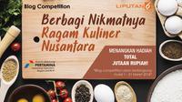 Blog competition Kuliner (Liputan6)
