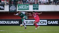 Duel PSS vs Persis dalam ajang Celebration Game di Stadion Maguwoharjo, Sleman, Sabtu (19/1/2019). (Bola.com/Vincentius Atmaja)