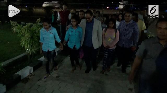 Tiga remaja dibawah umur yang diduga akan diperkejakan sebagai pekerja seks komersial di kota Medan, akhirnya di jemput pulang oleh Wakil Gubernur Nusa Tenggara Timur.