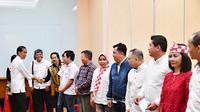 Jokowi berkampanye di Sulut.