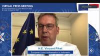 Duta Besar Uni Eropa untuk Indonesia, Vincent Piket.