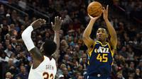 Donovan Mitchell Bantu Jazz Kalahkan Cavaliers (AP)