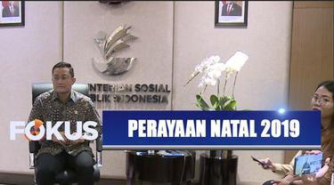 Pemerintah menggelar perayaan Natal Nasional pada 27 Desember di SICC Sentul, Bogor.