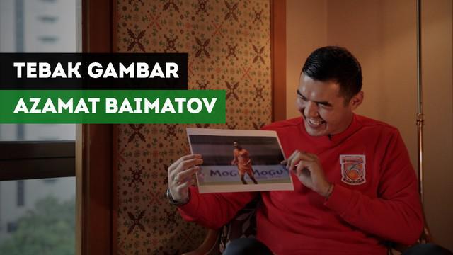 Berita Video Azamat Baimatov ditantang tebak gambar pemain Borneo FC.