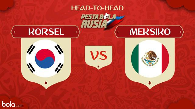 Berita video head-to-head Piala Dunia Rusia 2018: Korea Selatan vs Meksiko.