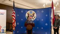 Heather Variava, Kuasa Usaha Ad Interim (KUAI) Kedutaan Besar Amerika Serikat. (Liputan6.com/ Benedikta Miranti T.V)