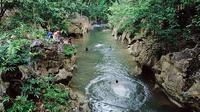 Objek Wisata Alam Batu Badinding, Pemandian Alam di Desa Liyu. foto: istimewa