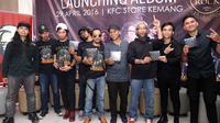Launching album 3 To Rock (Boomerang, Grassrock, D'Bandhits) (Nurwahyunan/bintang.com)