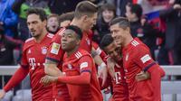 3. Bayern Munchen - Bintang 5 (Attack 90 – Midfield 85 – Defence 85), Pemain terbaik (Robert Lewandowski (OVR 90), Manuel Neuer (OVR 90), Mats Hummels (OVR 89)) (AFP/Guenter Schiffmann)