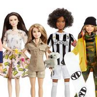 Barbie membuat figur perempuan hebat dunia untuk International Women's Day. (Sumber Foto: Vemale.com)
