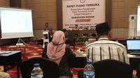Proses penghitungan suara pemilu 2019 Kabupaten Bogor.