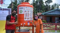 Bantuan Miliaran Rupiah Demi Wujudkan Konsistensi Dukungan untuk Bersama Hadapi Pandemi. foto: istimewa