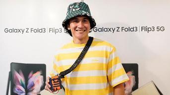 Vino G. Bastian Tertangkap Beli Samsung Galaxy Z Flip3, Deretan Fitur Ini Jadi Alasan Pindah ke Foldable!