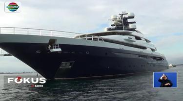 mereka adalah kapten kapal, chief officer, dan chief enginering. Hingga kini super yacht tersebut masih berada di perairan Teluk Benoa, Bali.
