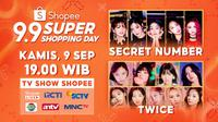 Shopee 9.9 Super Shopping Day TV Show.