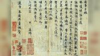 Surat berusia 1.000 tahun yang ditulis pada zaman Dinasti Song dibeli seharga Rp 423,8 M ( www.ecns.cn)