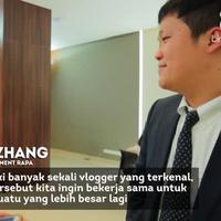 Platform vidio.com dan RAPA membuat sebuah acara yang memperkenalkan budaya Indonesia dan Korea.