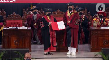 Pengukuhan Gelar Profesor Kehormatan untuk Megawati Soekarnoputri