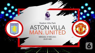 Prediksi Aston Villa vs Manchester United