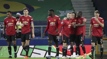 Hasil Piala Liga Inggris : MU dan Tottenham Melaju ke Semifinal