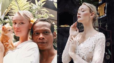 6 Potret Terbaru Polly Alexandria, Bule Cantik yang Dinikahi Pria Muntilan