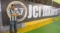 Koorbid II Juventus Club Indonesia, Abdul Hakim. (Bola.com/Nadhio Andromeda)